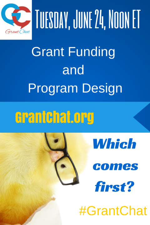Grant Funding and Program Design: Which Comes First?: Question Preview for 6/24