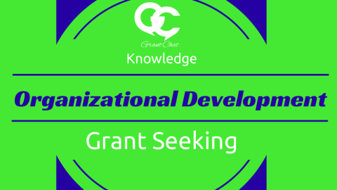 Preview Questions: Organizational Development and Grants