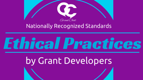 Question Preview: Ethical Practices in Grant Development