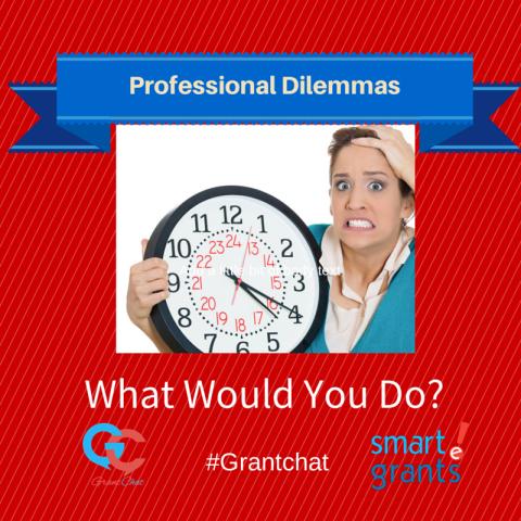 Grant Professionals' Dilemmas – WWYD