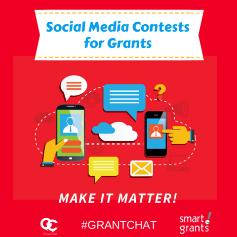 Social Media Contests for Grants