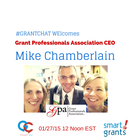 #GrantChat Preview Questions: Guest, Mike Chamberlain