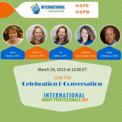 International Grant Professionals Day (IGPD) Hangout