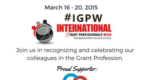 Celebrating International Grant Professionals Week