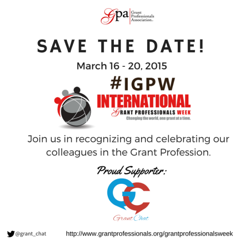 Celebrating International Grant Professionals Week
