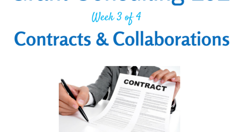 Question Preview: Grant Consulting 101: Contracts and Collaborations