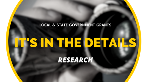Tools of the Trade: Researching State & Local Government Grants