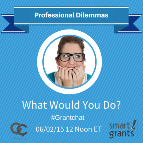 Question Preview: What Would You Do as a Grant Professional?