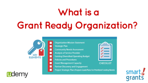 What does it mean to be a Grant Ready Organization?