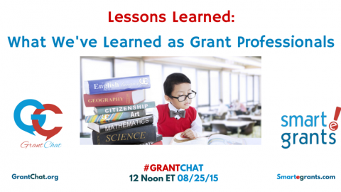 Question Preview: Lessons Learned as a Grant Professional