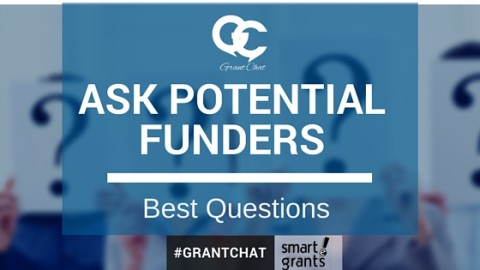 What to Ask Potential Funders