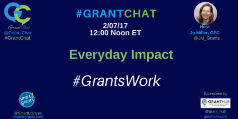 Everyday Impact: #GrantsWork