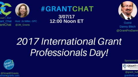 2017 International Grant Professionals Day #IGPD