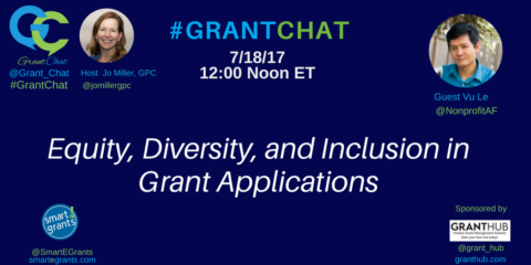 Equity, Diversity, and Inclusion in Grant Applications