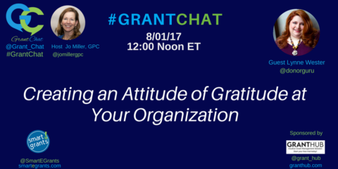 Creating an Attitude of Gratitude at Your Organization