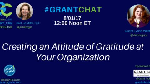 Creating an Attitude of Gratitude at Your Organization