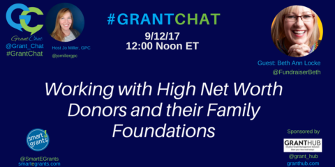 Working with High Net Worth Donors and their Family Foundations
