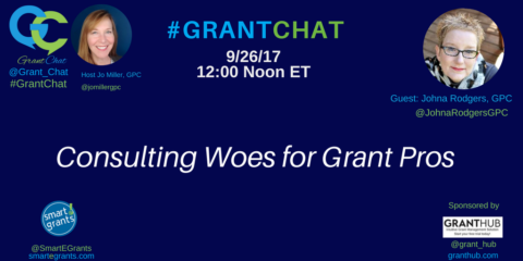 Consulting Woes for Grant Pros