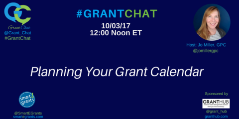 Planning Your Grant Calendar