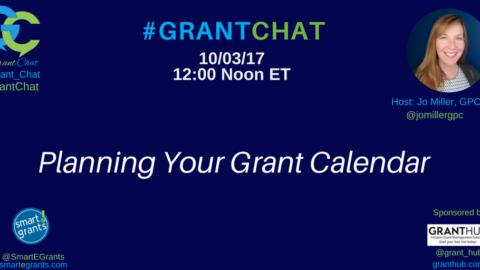 Planning Your Grant Calendar