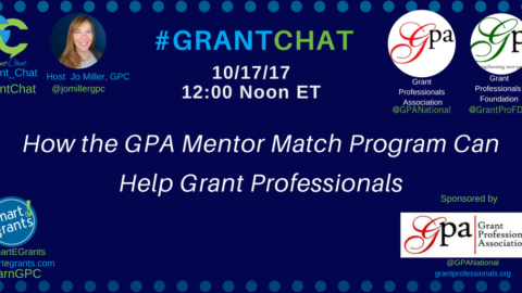 How the GPA Grant Mentor Match Program Can Help Grant Professionals