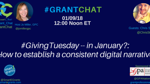 #GivingTuesday — in January?: How to Establish a Consistent Digital Narrative